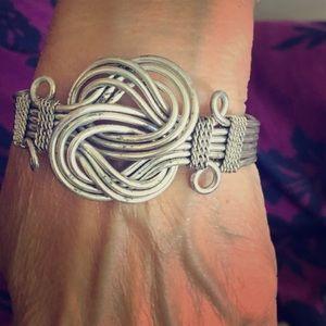 Handmade Knot Bracelet.